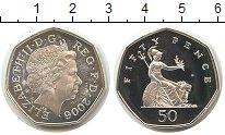 Изображение Монеты Великобритания 50 пенсов 2006 Серебро Proof