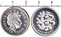 Изображение Монеты Великобритания 1 фунт 2008 Серебро Proof-