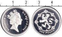 Изображение Монеты Великобритания 1 фунт 1994 Серебро Proof- Елизавета II.