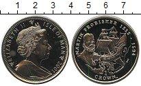 Изображение Монеты Остров Мэн 1 крона 2001 Медно-никель UNC