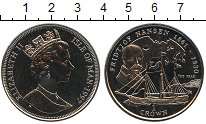 Изображение Монеты Остров Мэн 1 крона 1997 Медно-никель UNC Фритьоф Нансен