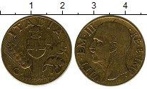 Изображение Монеты Италия 10 сентесим 1940 Медь XF