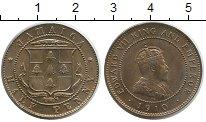 Изображение Монеты Ямайка 1/2 пенни 1910 Медно-никель UNC-