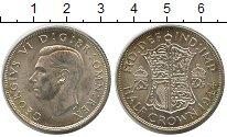 Изображение Монеты Великобритания 1/2 кроны 1944 Серебро XF Георг VI