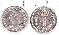 Изображение Монеты Великобритания 1 пенни 1894 Серебро XF Виктория