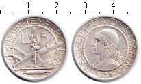 Изображение Монеты Сан-Марино 5 лир 1938 Серебро XF