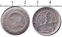 Изображение Монеты Сан-Марино 5 лир 1935 Серебро XF