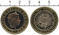 Изображение Монеты Великобритания 2 фунта 2003 Биметалл UNC-