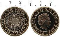 Изображение Монеты Великобритания 2 фунта 2000 Биметалл UNC-