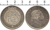 Изображение Монеты Великобритания 1/2 кроны 1819 Серебро UNC- Георг III