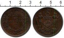 Изображение Монеты Великобритания Борнео 1 цент 1888 Медь XF