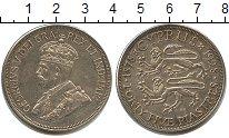 Изображение Монеты Кипр 45 пиастров 1928 Серебро XF Георг V