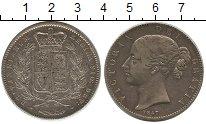 Изображение Монеты Великобритания 1 крона 1847 Серебро VF Виктория