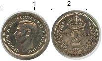 Изображение Монеты Великобритания 2 пенса 1942 Серебро XF