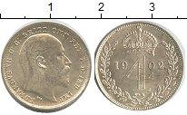 Изображение Монеты Великобритания 4 пенса 1902 Серебро XF
