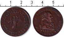 Изображение Монеты Великобритания 1/2 пенни 1795 Медь  Лакингтон. Токен