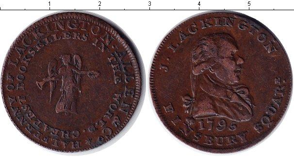 Картинка Монеты Великобритания 1/2 пенни Медь 1795