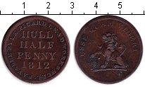 Изображение Монеты Великобритания 1/2 пенни 1812 Медь XF