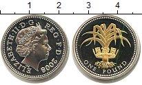 Изображение Монеты Великобритания 1 фунт 2008 Серебро Proof