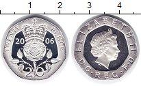 Изображение Монеты Великобритания 20 пенсов 2006 Серебро Proof
