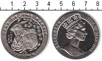 Изображение Монеты Остров Мэн 1 крона 1999 Медно-никель UNC Год Кролика