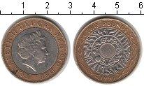 Изображение Монеты Великобритания 2 фунта 1999 Биметалл  Елизавета II