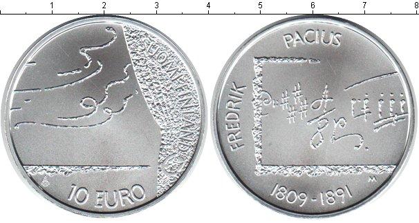 Картинка Монеты Финляндия 10 евро Серебро 2009