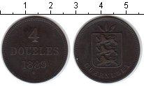 Изображение Монеты Гернси 4 дубля 1889 Медь XF
