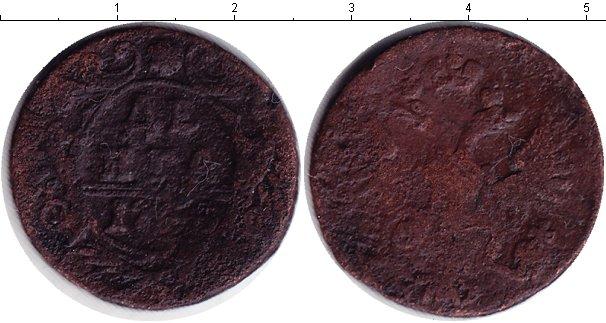 Картинка Монеты 1741 – 1761 Елизавета Петровна 1 деньга Медь 1753