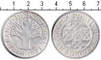 Изображение Монеты Португалия 50 эскудо 1971 Серебро XF 125-летие Банка Порт