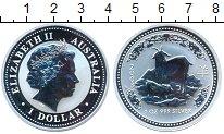 Изображение Монеты Австралия 1 доллар 2003 Серебро Proof- Год козы