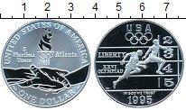 Изображение Монеты США 1 доллар 1995 Серебро Proof Олимпиада 1996 в Атл