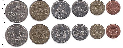 Изображение Наборы монет Сингапур Сингапур 1994-2012 0  UNC- В наборе 6 монет ном