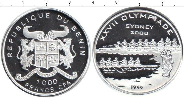 Картинка Монеты Бенин 1.000 франков Серебро 1999