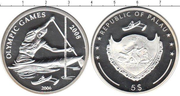 Картинка Монеты Палау 5 долларов Серебро 2006