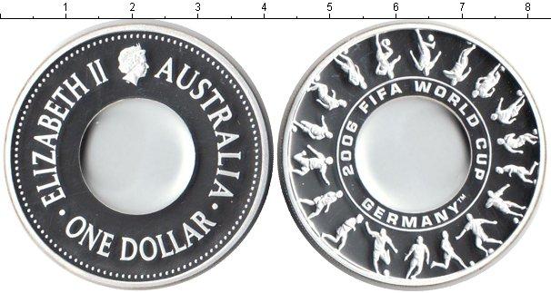 Картинка Монеты Австралия 1 доллар Серебро 2006