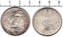 Изображение Монеты Ватикан 500 лир 1966 Серебро XF