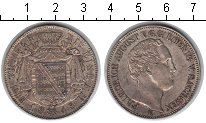 Изображение Монеты Германия Саксония 1 талер 1848 Серебро XF