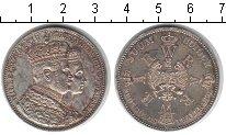 Изображение Монеты Пруссия 1 талер 1861 Серебро XF Вильгельм и Августа