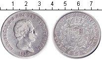 Изображение Монеты Италия Сардиния 5 лир 1830 Серебро VF