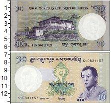 Изображение Банкноты Бутан 10 нгултрум 2013  UNC Джигме Сингье Вангчу