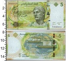 Изображение Боны Тунис 5 динар 2013  UNC