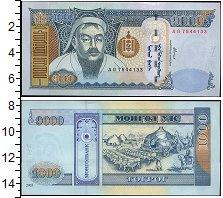 Изображение Боны Монголия 1000 тугриков 2003  UNC