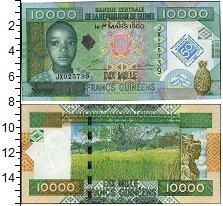 Изображение Банкноты Гвинея 10000 франков 2010  UNC