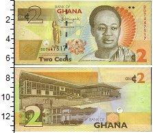 Изображение Банкноты Гана 2 седи 2013  UNC-