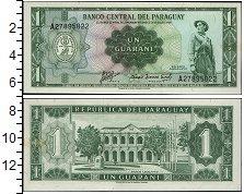 Изображение Банкноты Парагвай 1 гуарани 1952  UNC