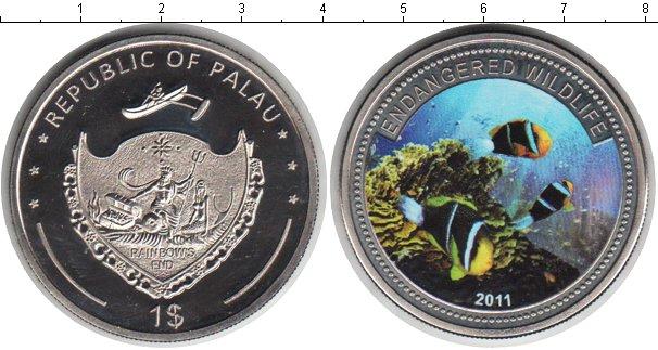 Картинка Монеты Палау 1 доллар Медно-никель 2011