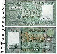 Изображение Банкноты Ливан 1.000 ливр 0  UNC