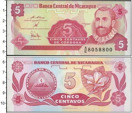 Картинка Боны Никарагуа 5 сентаво  0