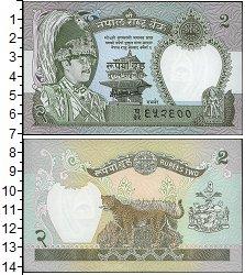 Изображение Боны Непал 2 рупии 0  UNC